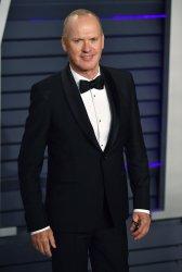 Michael Keaton attends Vanity Fair Oscar Party 2019