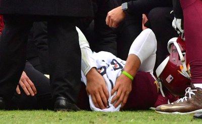 Redskins quarterback Alex Smith is injured