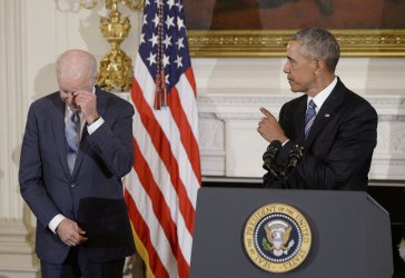 Obama Presents the Medal of Freedom to Vice-President Biden