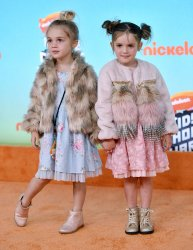 Mila and Emma Stauffer attend Kids' Choice Awards 2019