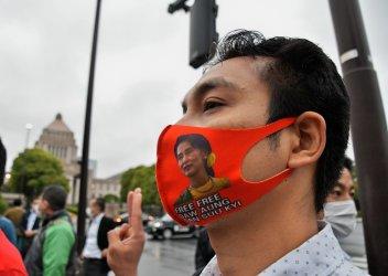 Anti-China demonstration in Tokyo