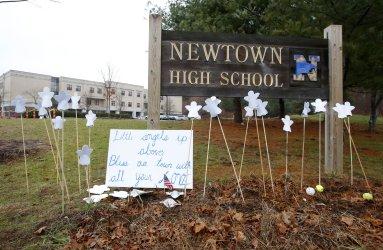 Sandy Hook Elementary School shooting aftermath