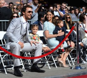 Matthew McConaughey receives star on Hollywood Walk of Fame in Los Angeles