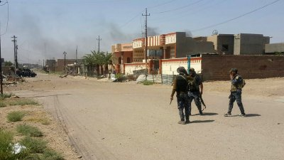 Iraqi Security Forces Clashes With Islamic State Militants  in Fallujah