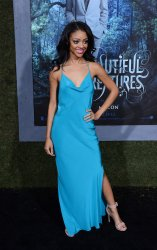 "Tiffany Boone attends the ""Beautiful Creatures"" premiere in Los Angeles"