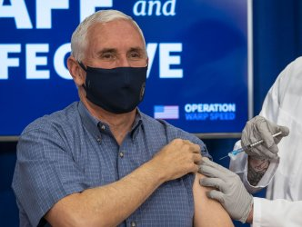 Vice President Mike Pence Receives COVID-19 Vaccine During Live Broadcast