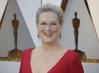 Meryl Streep arrives at the 90th Annual Academy Awards in Hollywood