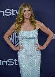 Connie Britton attends Instyle/Warner Bros. Golden Globes party