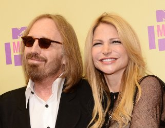 Tom Petty and guest attend the 2012 MTV Video Music Awards in Los Angeles