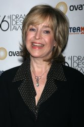 Jill Eikenberry arrives for the Reception for the Drama Desk Award Nominees in New York