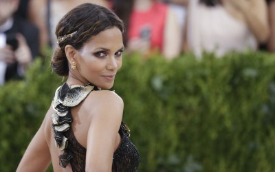 Halle Berry at the Met Costume Benefit