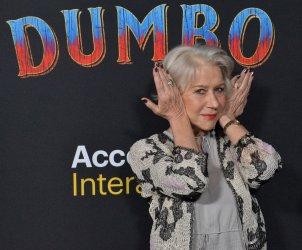 """Helen Mirren attends the """"Dumbo"""" premiere in Los Angeles"""