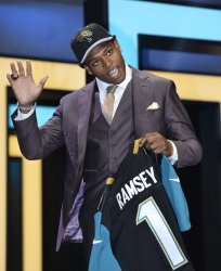 Jacksonville Jaguars select Jalen Ramsey at NFL Draft in Chicago
