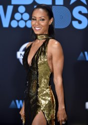 Jada Pinkett Smith attends the annual BET Awards in Los Angeles