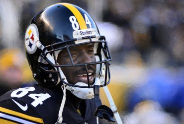 Steelers Antonio Brown Following Touchdown Against Jaguars