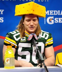 Green Bay Packers participate in Media Day for Super Bowl XLV in Arlington, Texas
