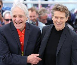 Abel Ferrara and Willem Dafoe attend the Cannes Film Festival