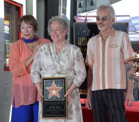 Kathy Bates honored with star on Hollywood Walk of Fame in Los Angeles