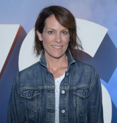 "Annabeth Gish attends the ""Storks"" premiere in Los Angeles"