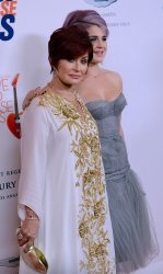 Sharon Osbourne and Kelly Osbourne attend the 20th annual Race to Erase gala in Los Angeles