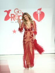 Grace Helbig at American Heart Association's Go Red For Women Show