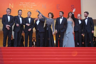 "The cast from ""La Belle Epoque"" attends the Cannes Film Festival"