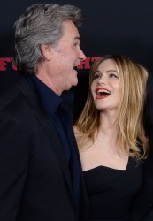 """Kurt Russell and Jennifer Jason Leigh attend """"The Hateful Eight"""" premiere in Los Angeles"""