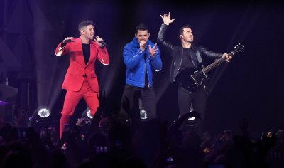 The Jonas Brothers performs at Jingle Ball 2019 In Sunrise Florida