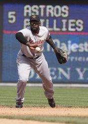 Philadelphia Phillies-Houston Astros game action