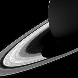 Saturn's Short Shadow