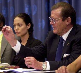 Danny Glover, Angelina Jolie, Roger Moore discuss Goodwill Ambassadors agenda