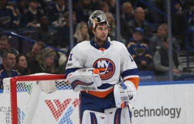 New York Islanders goaltender Thomas Greiss