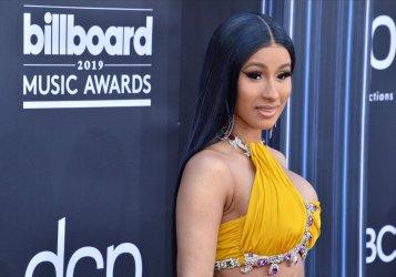 Cardi B attends the 2019 Billboard Music Awards in Las Vegas