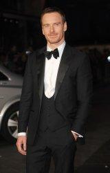 """Michael Fassbender attends a screening of """"Steve Jobs"""" in London"""
