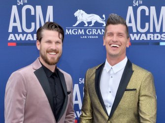 Curtis Rempel and Brad Rempel attend the Academy of Country Music Awards in Las Vegas