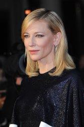 "Cate Blanchett attends a screening of ""Carol"" in London"