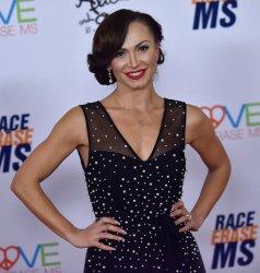 Karina Smirnoff attends Race to Erase MS gala in Beverly Hills