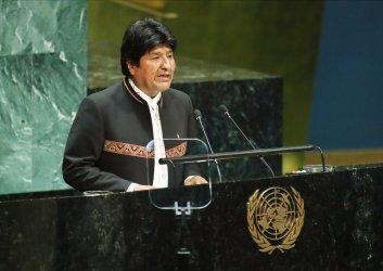 Bolivia President Evo Morales at UN GA