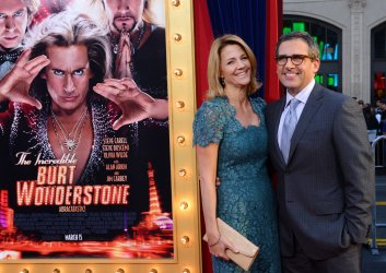 "Steve Carrell attends ""The Incredible Burt Wonderstone"" premiere in Los Angeles"