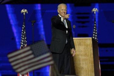 Joe Biden Kamala Harris Election Celebration in Delaware