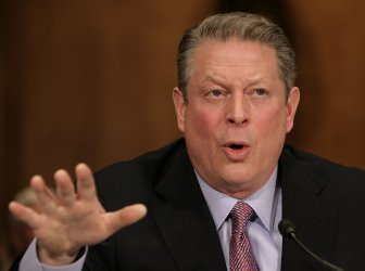 Former Vice President Gore testifies at Senate Foreign Relations Committee hearing in Washington