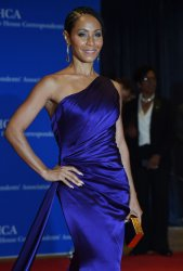 Jada Pinkett Smith poses on the red carpet at the White House Correspondents' Association Dinner