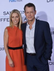 """Greg Kinnear and Helen Labdon attend the """"Same Kind of Different as Me"""" premiere in Los Angeles"""