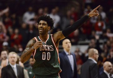 The Milwaukee Bucks Play the Chicago Bulls in Game 2 of the First Round of the NBA Playoffs in Chicago