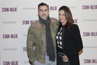 Paul Schneider at the 'Stan & Ollie' New York screening