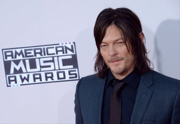 Norman Reedus attends the 43rd annual American Music Awards in Los Angeles