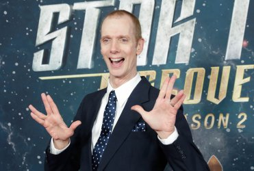 Doug Jones at the 'Star Trek: Discovery' premiere