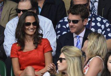 Pippa Middleton at Wimbledon.