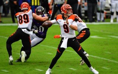 Cincinnati Bengals play Baltimore Ravens at M&T Bank Stadium