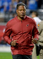 Cardinals' Wilks leaves the field after loss